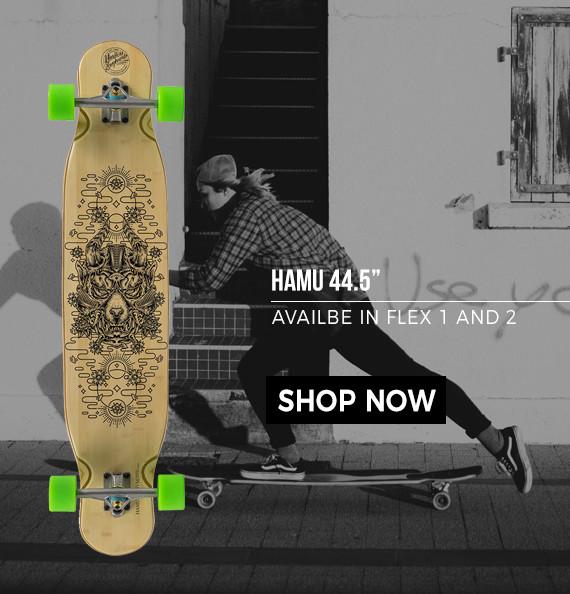 hamu dancer longboard